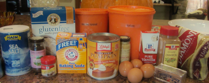 Gluten-Free Goodness – Pumpkin Bread