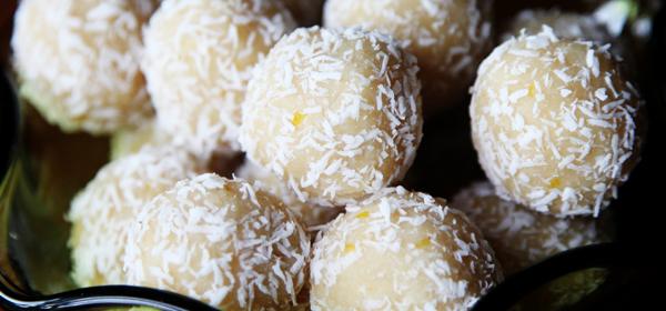 Gluten-Free Goodness: Meyer Lemon – Coconut Balls