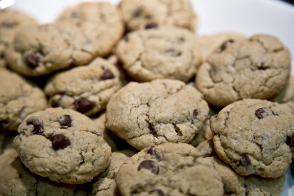 Chocolate Chip Oatmeal Cookies (Gluten-Free)