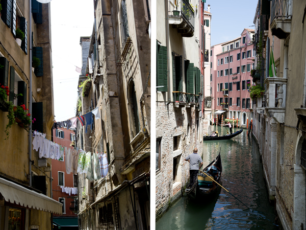 Clotheslines and gondolas are everywhere