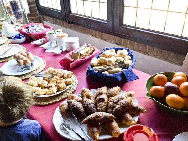 The Tuscan breakfast