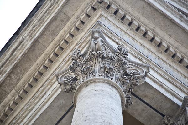 Piazza del Popolo architecture.