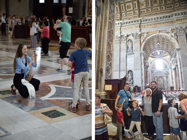 St. Peter's Interiors