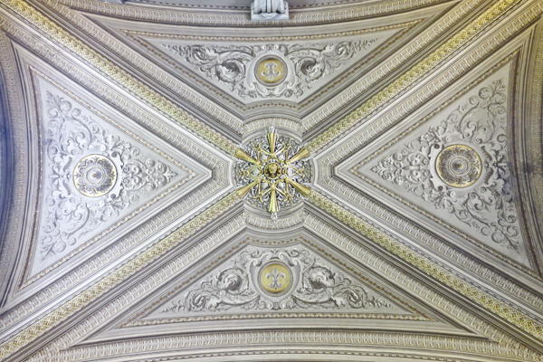 Another intricate ceiling
