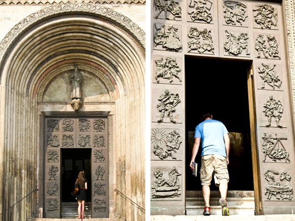 How gorgeous are these church doors?