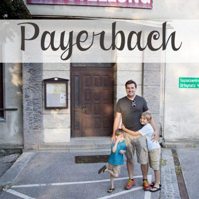 Europe Trip: Payerbach