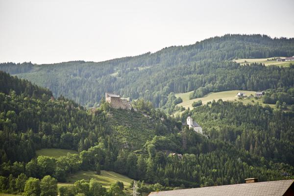Driving through Austria.