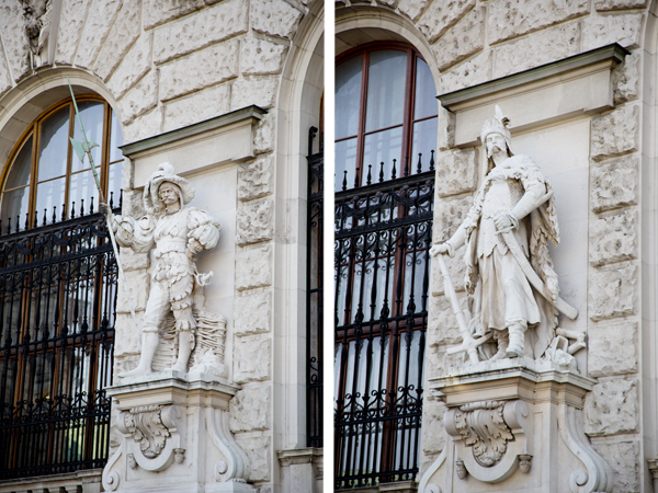 Hofburg Palace Statues