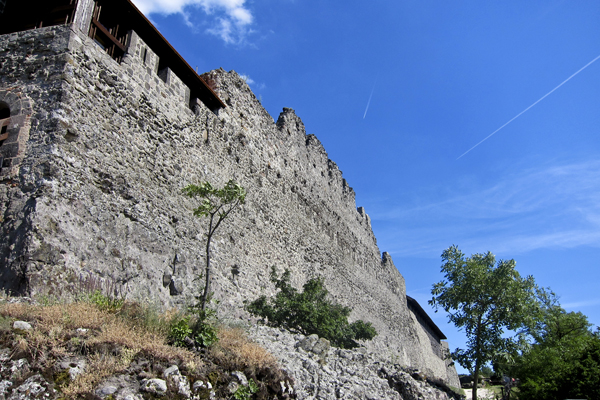 The fortress in Visegrád