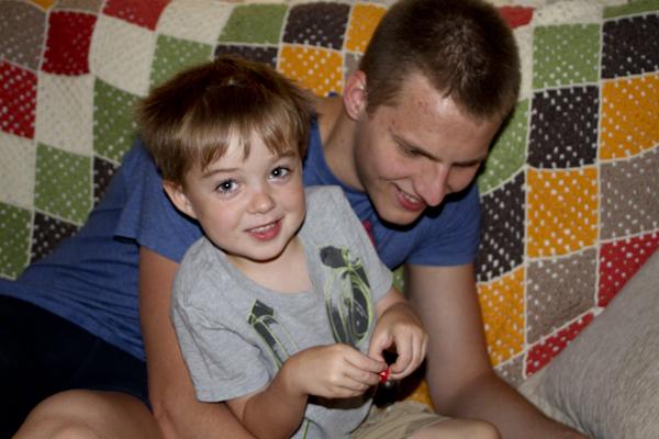 Little Guy and Gergő hit it off immediately