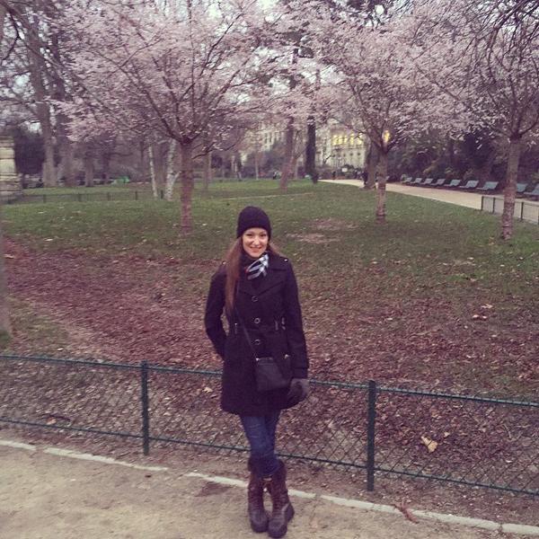 Parc Monceau in full bloom
