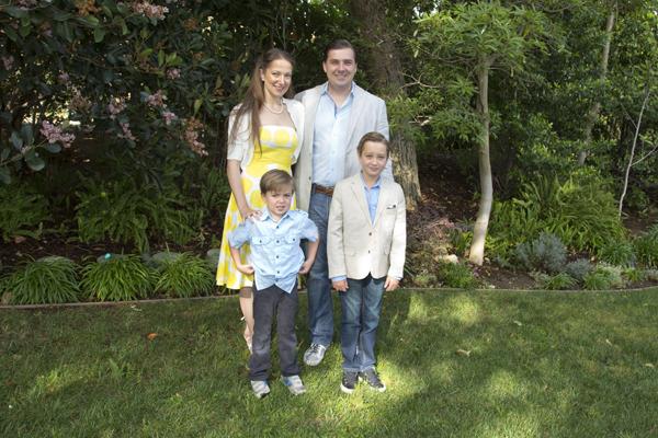 My little family on Easter Sunday