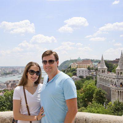 Europe Trip: Budapest's Castle Hill Part 1 –  Halászbástya