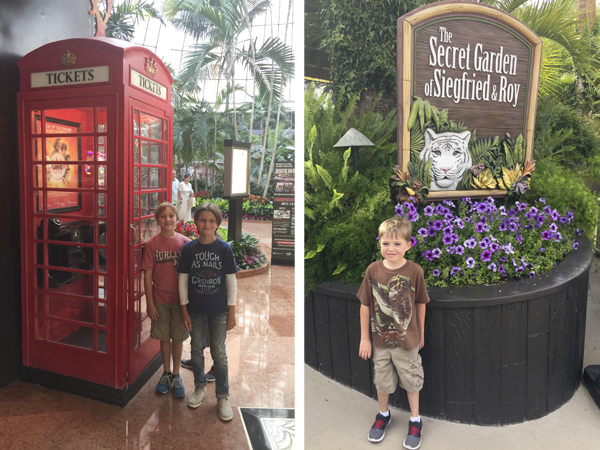 The phone booth was one of their favorite parts