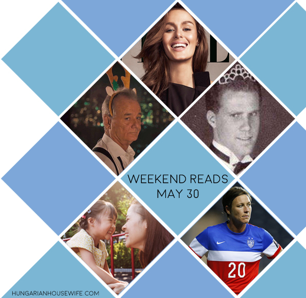 weekend reads - May 30