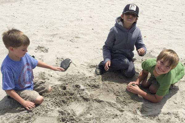 More sand fun