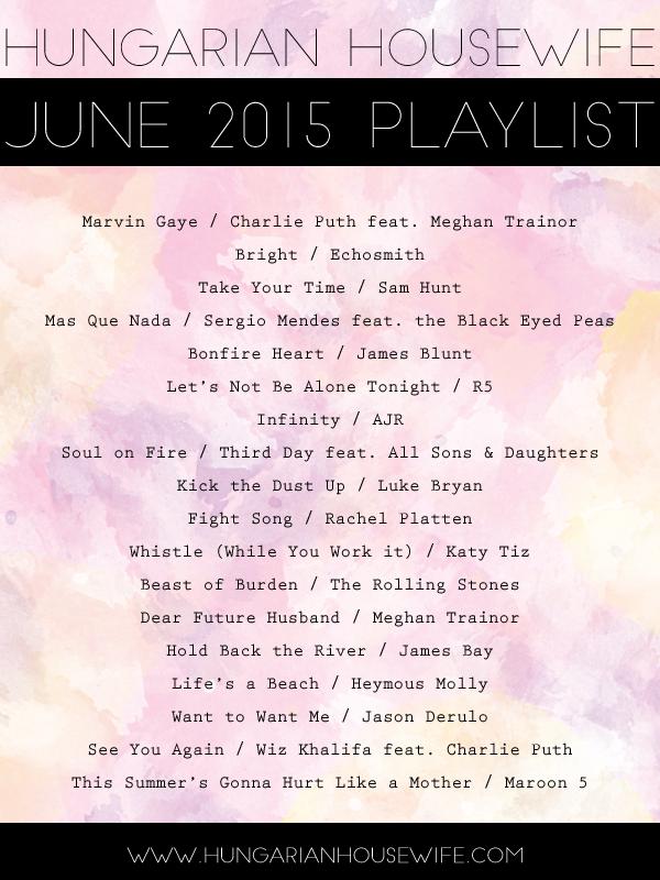 2015-06-JunePlaylist
