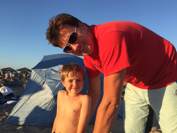 David and Little Man