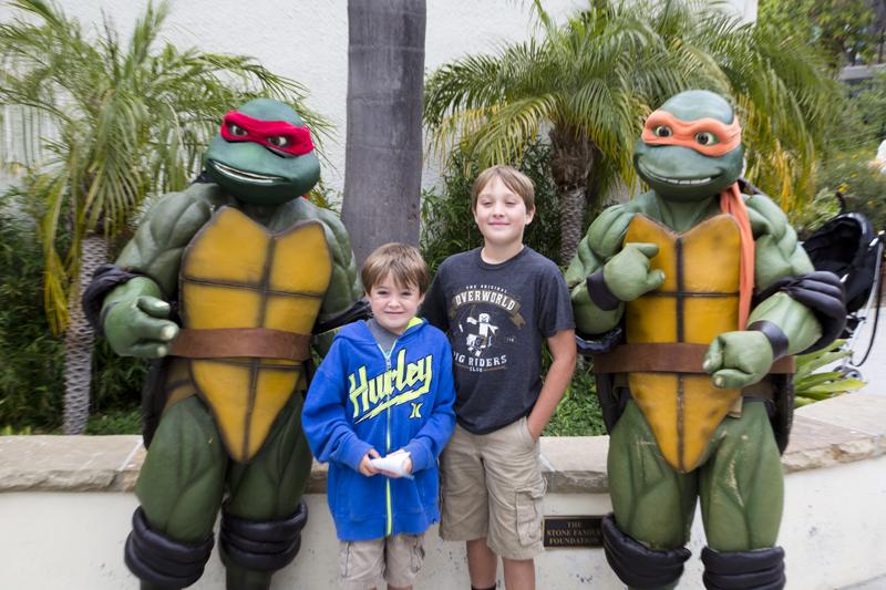 Santa Barbara Zoo 001 Ninja Turtles