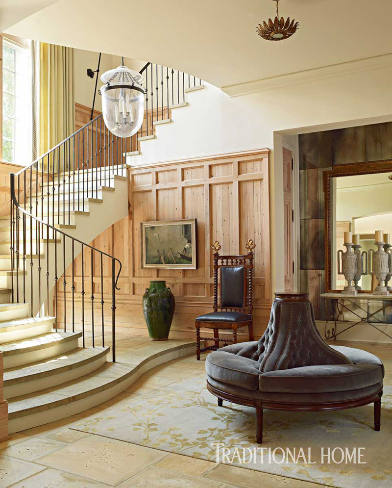 The Esther Banquette in the Stair Hall