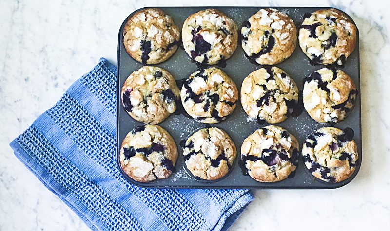 Jordan Marsh Blueberry Muffins Department Store Muffins