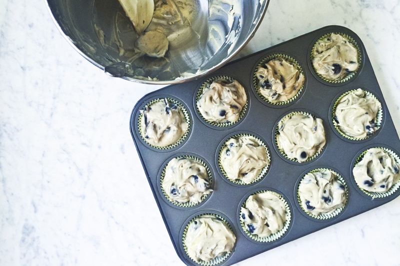 Almost Famous Blueberry Muffins 002